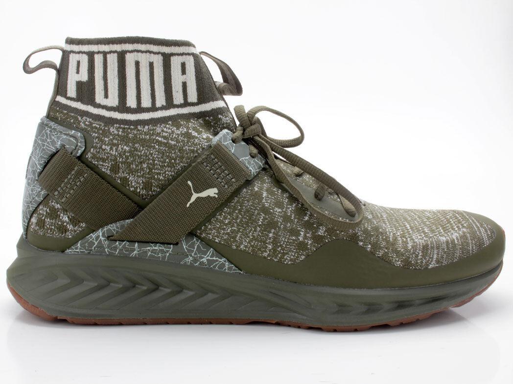 Puma IGNITE evoKNIT Hypernature 190337 01 olive-white