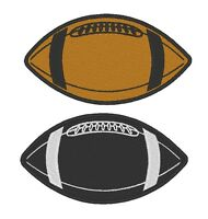 Custom Embroidered Football Ball Sport Team Sew On Round Patch (a) - All Size