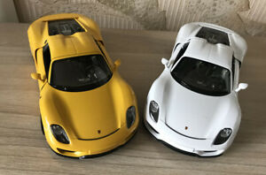 WELLY-1-24-Porsche-918-Spyder-Alloy-Car-Model-Boys-Toys-Static-Display