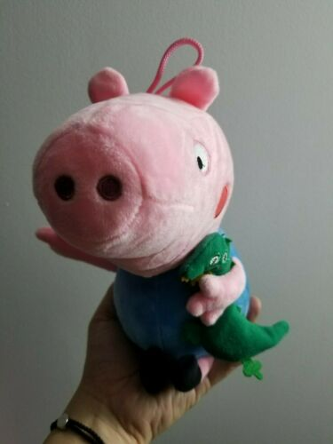 10 inch 25cm Peppa Pig GEORGE Soft Stuffed Plush Doll Cute kids gift