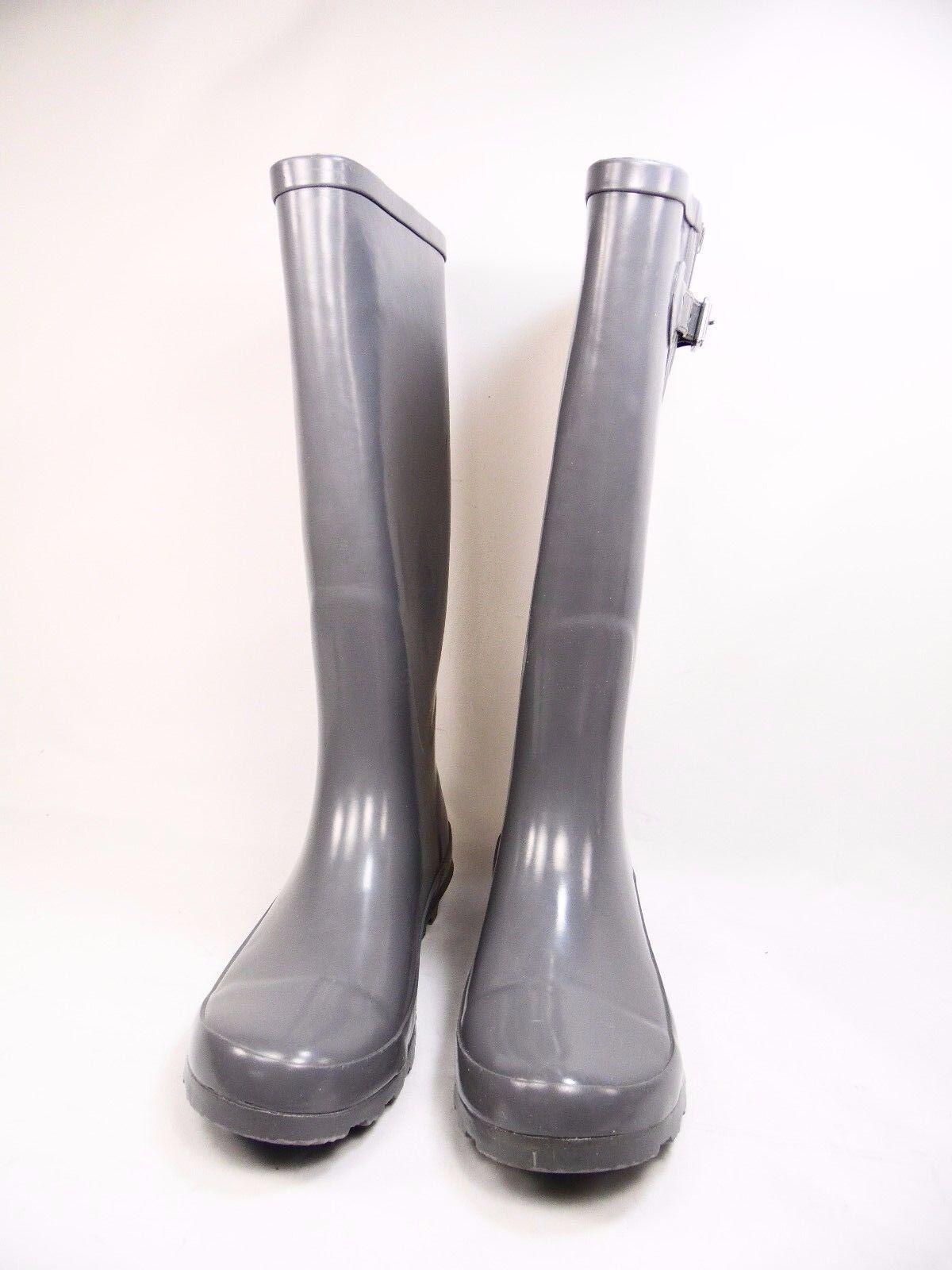 Western Chief Women's Grey Classic Tall Rain Boots Grey Women's Size 7 b21f7d