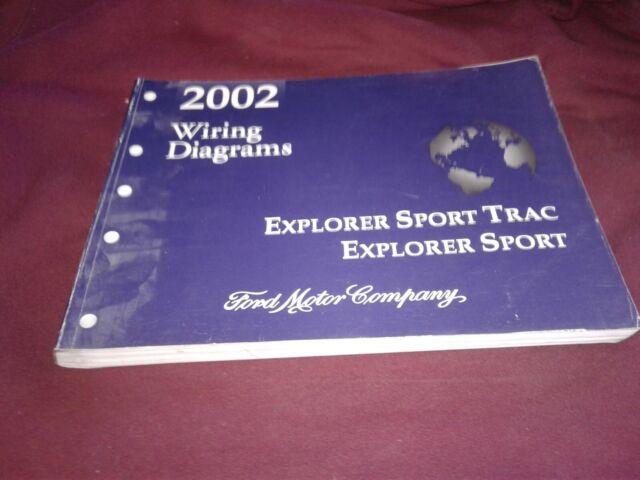 Diagram  2004 Ford Explorer Sport Trac Service Shop Set