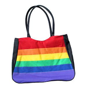 daf89469be8c Image is loading Gay-Rainbow-Sisters-Gay-Pride-Canvas-Tote-Bag