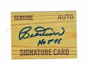 Bobby Doerr Boston Red Sox HOF Signed Custom Signature Card W/OUR COA