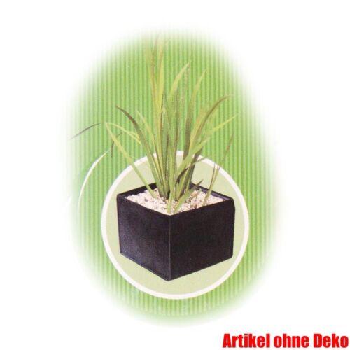 Pflanzkorb 30 x 30 x 25 cm eckig textil für Teichpflanzen Beutel Tasche Topf