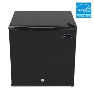 Portable-Petit-Congelateur-1-1-ft-environ-31-15-L-Verticale-Verrouillable-reversible-pour-porte-Noir