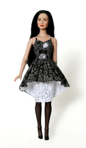 Night Out Dress Doll Clothes Sewing Pattern for Tyler Fletcher Tonner