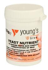 YOUNG lievito NUTRIENTE for Vigorous fermantation 100g VASCA HOME Brew