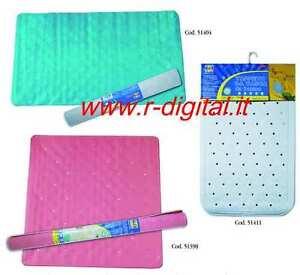 Tappeto vasca da bagno 58x37 pvc telo antiscivolo doccia - Tappeto antiscivolo vasca da bagno ...