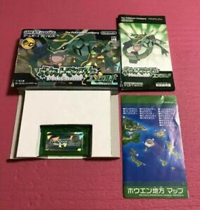 Used-Pokemon-Emerald-box-Nintendo-GBA-Game-Boy-Advance-from-Japan