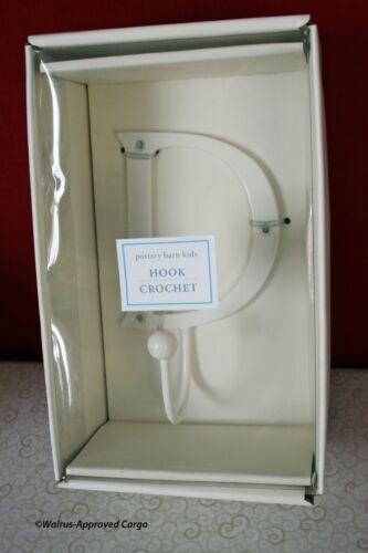 NIB IT'S GREAT FOR JUST HANGING AROUND THE ROOM POTTERY BARN METAL LETTER HOOK
