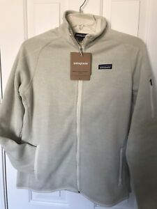 New Patagonia Womens Better Sweater Raw Linen Full Zip Jacket