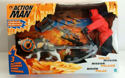 ACTION MAN POLAR MISSION - Action Figure - used w/ original box -