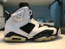 Nike Air Jordan 6 Retro Oreo (Size 11 Mens) White and Black