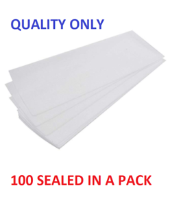 100 Depilatory Paper Waxing Strips Nonwoven Legs Body Hair Remove