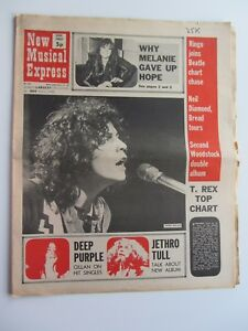 MARC-BOLAN-N-M-E-etui-MARCH-1971-Beatles-Solo-Chase-UP-Charts