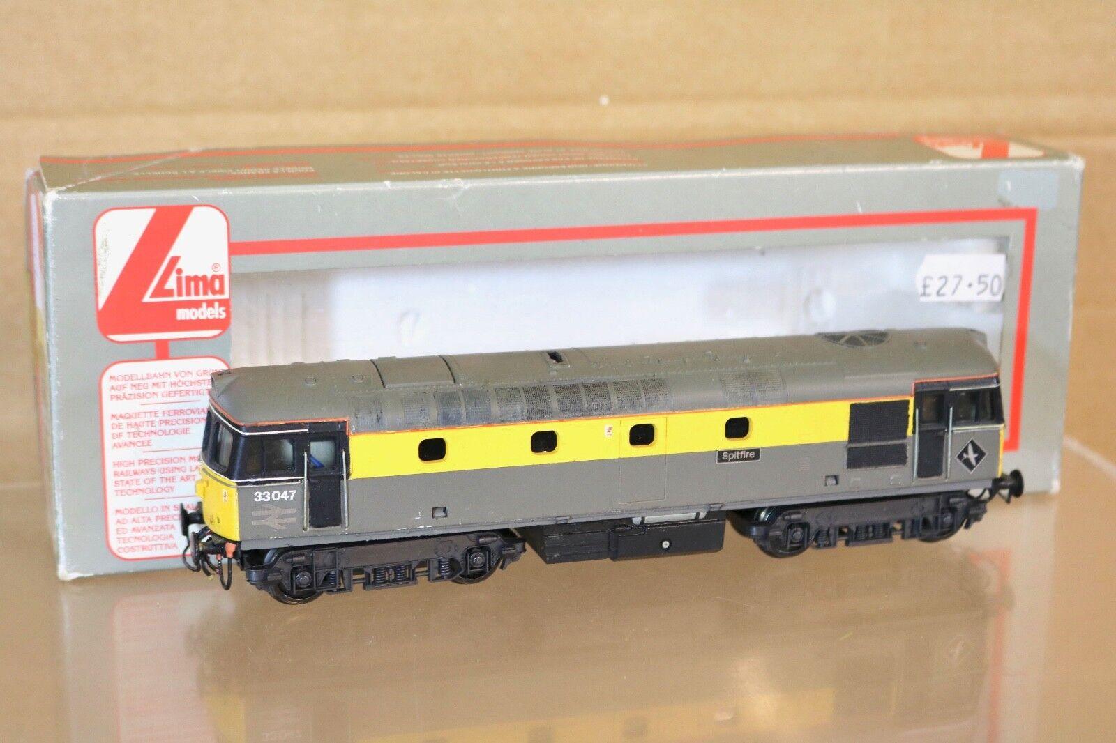 Lima 205070 Rifinite Br Olandese Livrea Classe 33 Locomotiva 33047 Spitfire Np