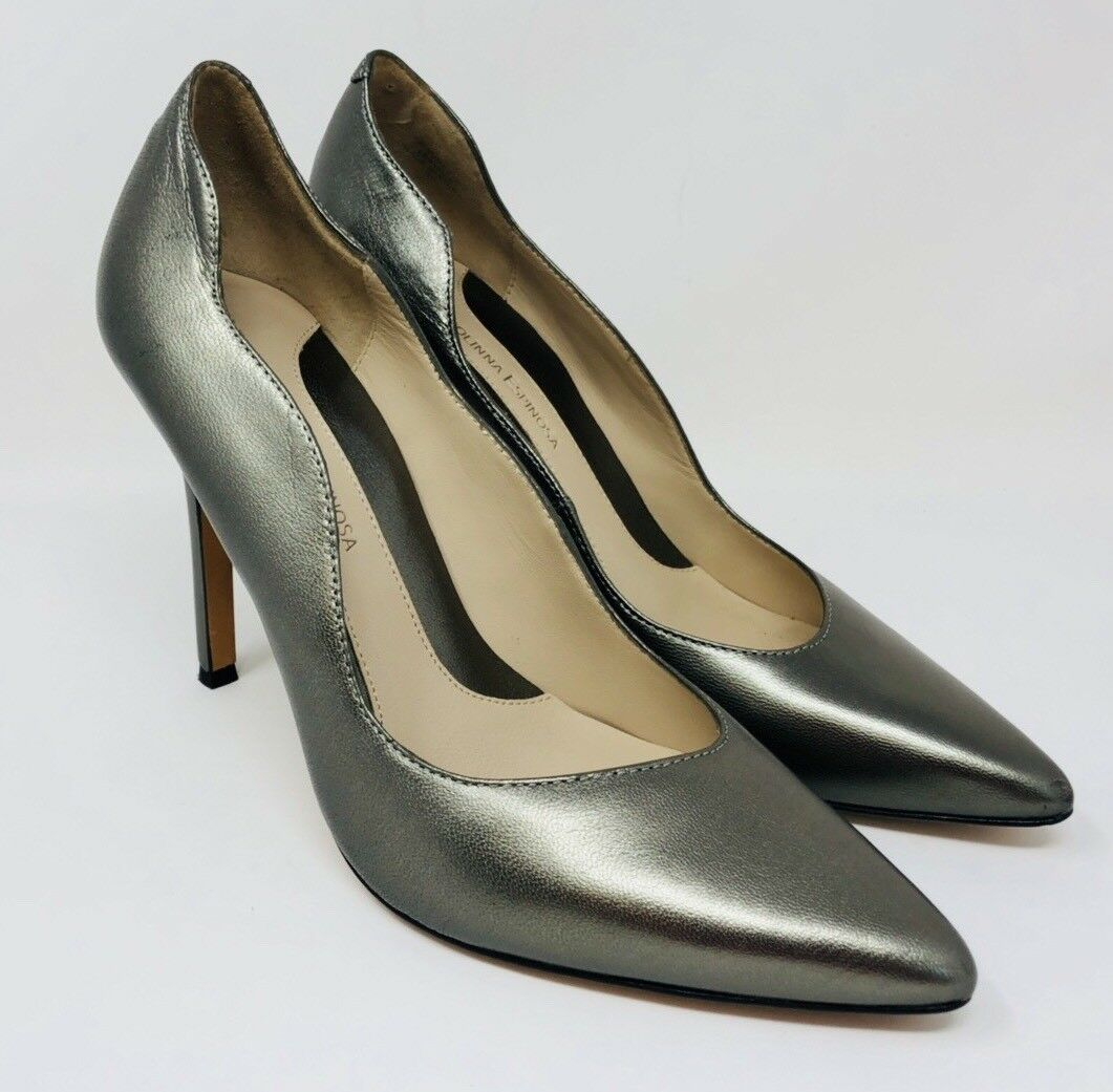 Carolinna Espinosa Women's Sumpter Leather Pointed-Toe Pumps Size 9