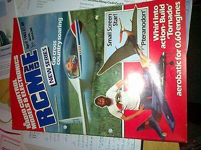 Fashion Style Radio Contrlo Modelli E Electronics Copia 1985 Magazine April-mostra Il Titolo Originale Design Accattivanti;