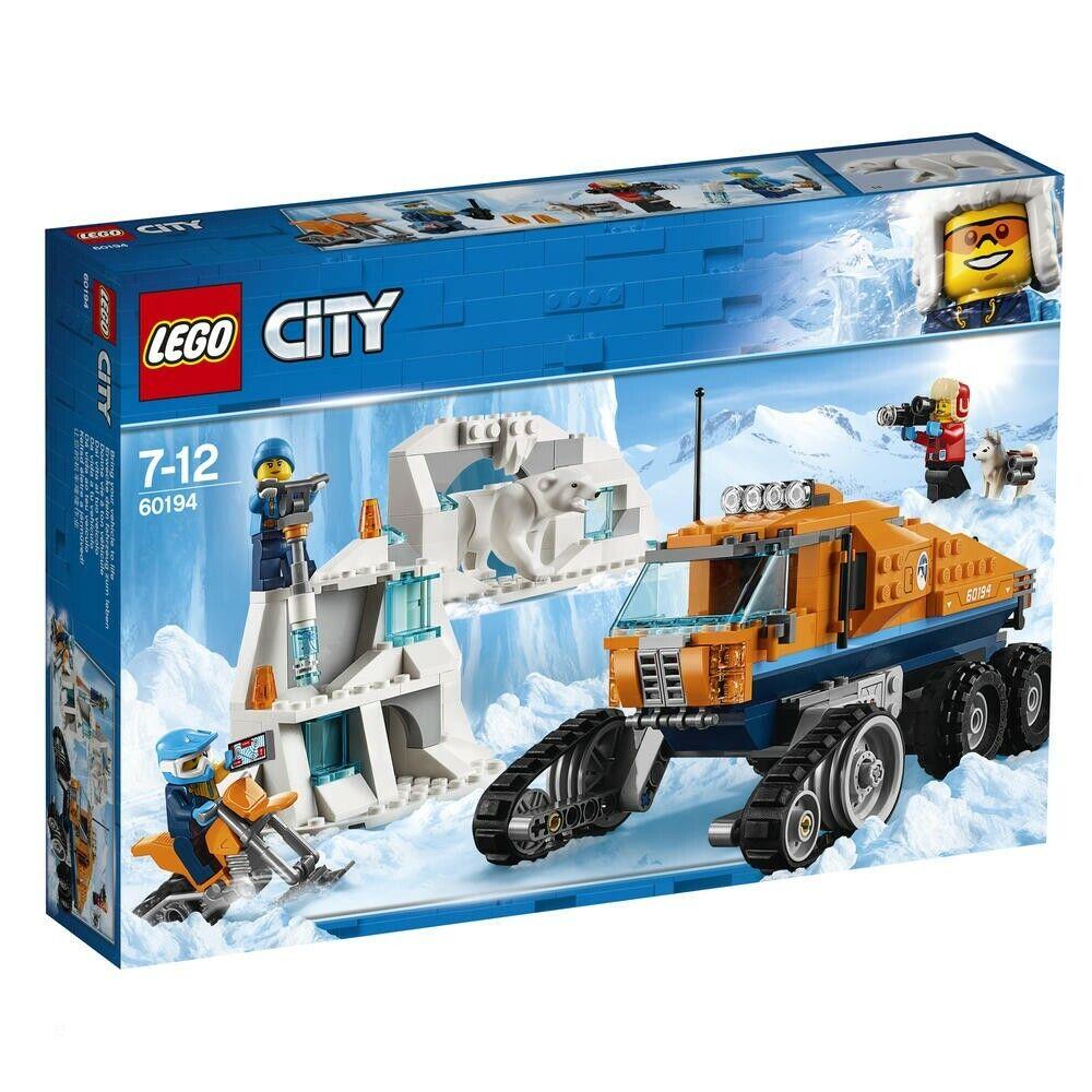 LEGO 60194 Le véhicule à chenilles d'exploration CITY ARTIC ++ 100% NEUF NEW ++