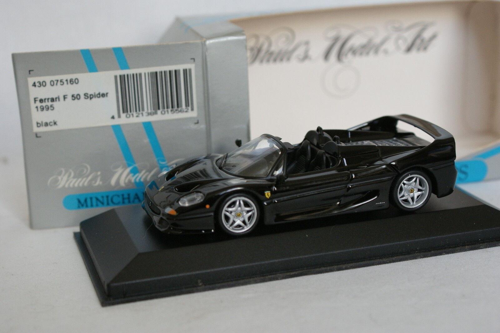 Minichamps 1 43 - Ferrari F50 Spider Negro