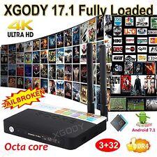 XGODY DDR4 Android 7.1 KODI 17.1 3+32GB 4K Smart TV BOX CSA93 S912 Octa Core 3D
