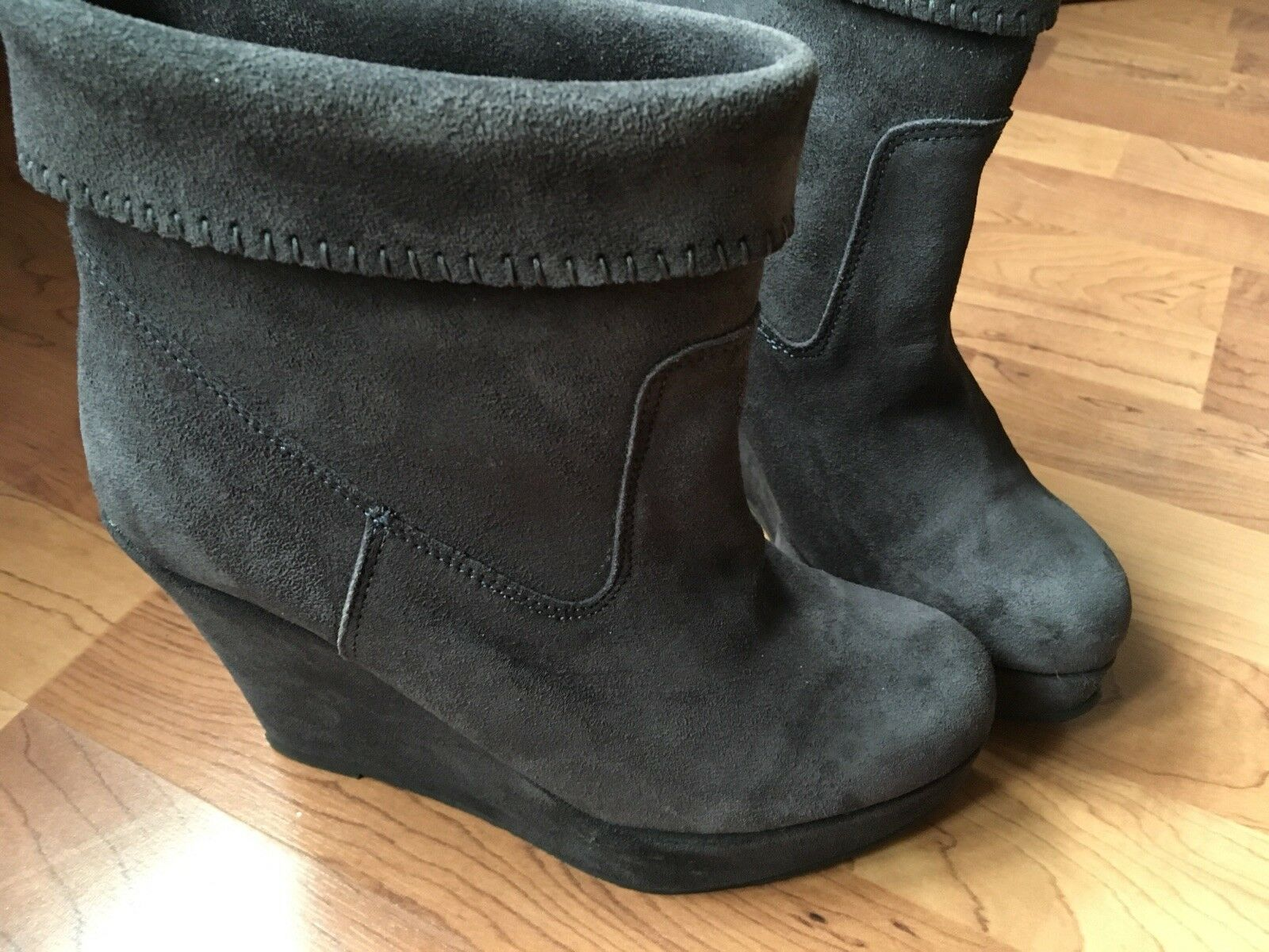 Suede Ankle Boots 4 Size 4 Boots Paolo Simonini d2a44b