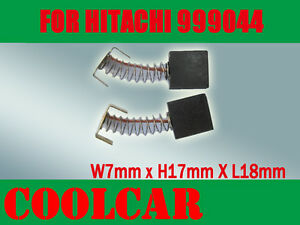 Carbon Brushes For Hitachi 999-044 Miter Saw CC14SE,M12V2,G18SR,G23SR,CC14,H65SD