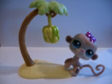 Littlest Pet Shop No# Rare Glitter Sparkle Monkey w/Accessories