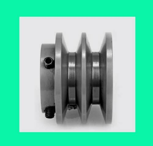 "OD 2BK25-7//8/"" 2-1//2/"" 2BK 7//8/"" Bore 2 GROOVE Sheave PULLEY FOR 4L,5L BELT 2.5/"""