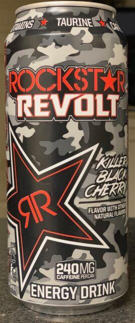 NEW ROCKSTAR REVOLT KILLER CITRUS FLAVOR ENERGY DRINK 16 FL OZ FULL CAN BUY IT
