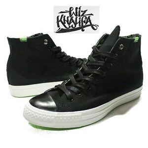 9d27197927c Wiz Khalifa s Converse All Stars - Size 10 Mens Black   Green ...