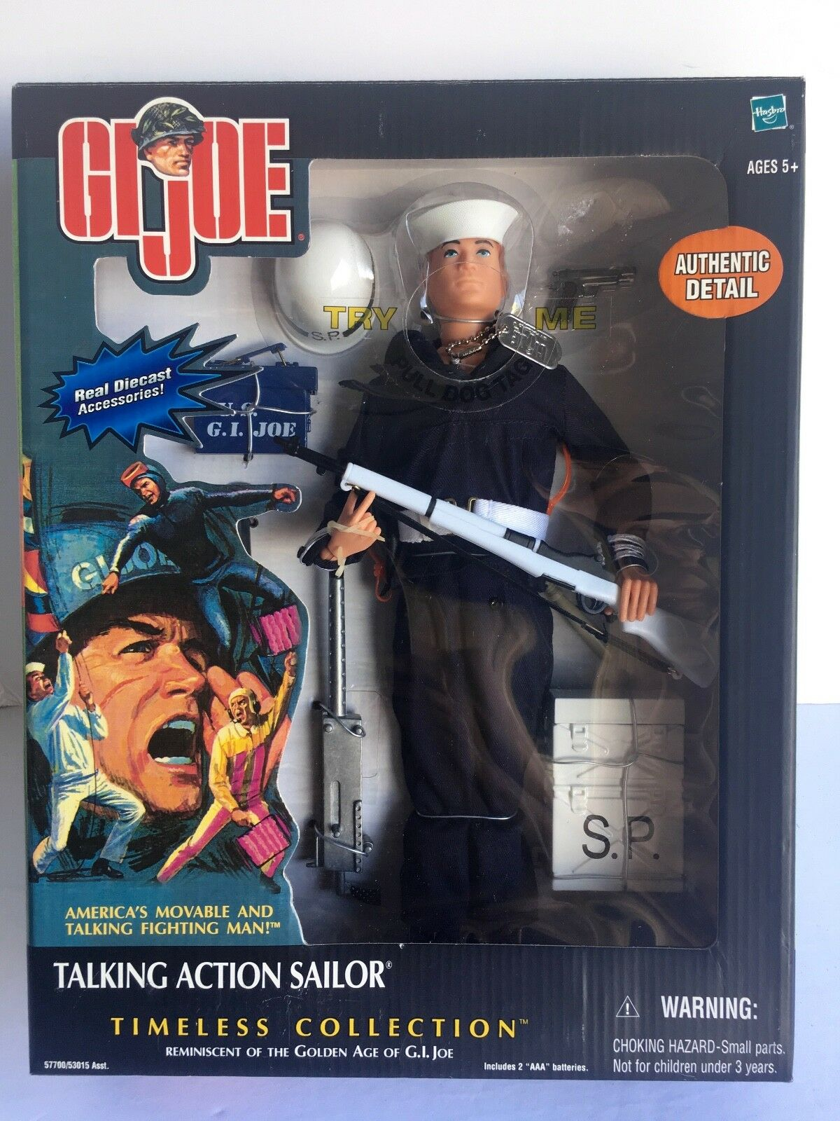 G. I. Joe TALKING ACTION SOLDIER Die Cast Accessories GJ-8