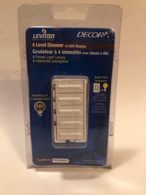 [SCHEMATICS_4PO]  Almond 120 VAC Leviton 6161-A 500 W Decora 4-Level Step Dimmer Dimmer  Switches | Leviton 6161 Dimmer Wire Diagram |  | ukmalayalee
