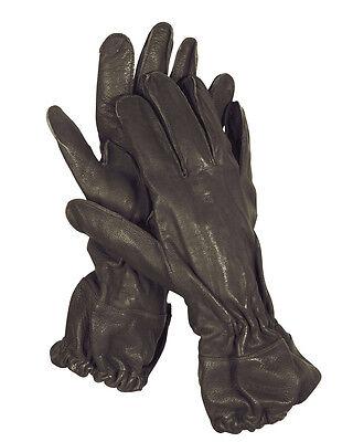8-12 Mil-Tec US Para Fingerhandschuhe Repro Leder Lederhandschuhe Handschuhe Gr