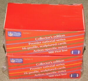 1990-ACTION-PACKED-SERIES-1-and-SERIES-2-FACTORY-SEALED-BOXES
