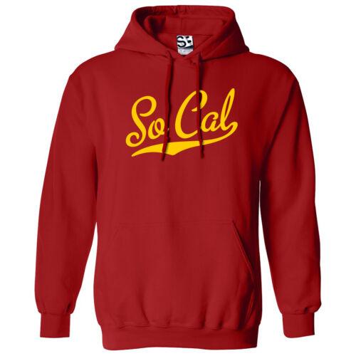 So Cal Script /& Queue Hoodie à Capuche Southern Cali California Sweatshirt Toutes Les Couleurs