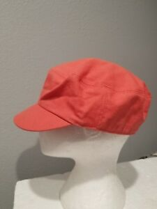 KANGOL Organic Canvas MAU CAP   ARMY HAT Sz Large Orange EUC 9997BC ... 143e05c099ff