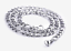 18-36-3-12MM316L-Men-039-s-Women-039-s-Kids-Stainless-Steel-Necklace-Chain-Figaro-Chain thumbnail 4