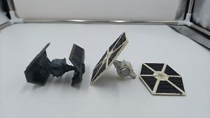 SMALL Kenner 1978 KENNER STAR WARS Tie Fighters (2) SFB