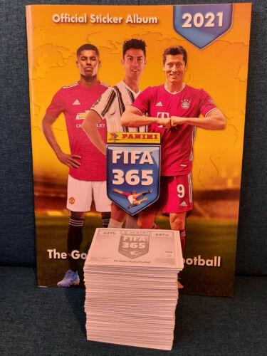 alle 449 Sticker komplettes Set Panini Fifa 365 2021 Sticker Sammelalbum