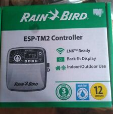 Rain Bird Esp Tm2 12 Wifi Capable 12 Zone Controller Optional Lnk Module Link For Sale Online Ebay