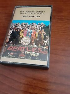 THE-BEATLES-SGT-Pepper-039-s-LONELY-Hearts-CLUB-Band-Cassette