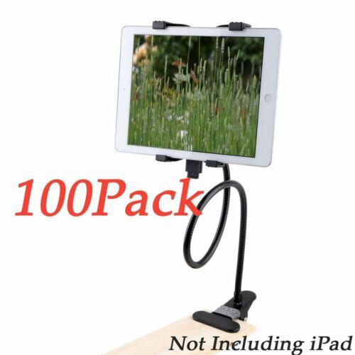 1-100 Flexible 360 Clip iPad Tablet Holder Lazy Bed Desktop Bracket Mount Lot BE