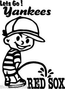Yankees Peeing On Red Sox