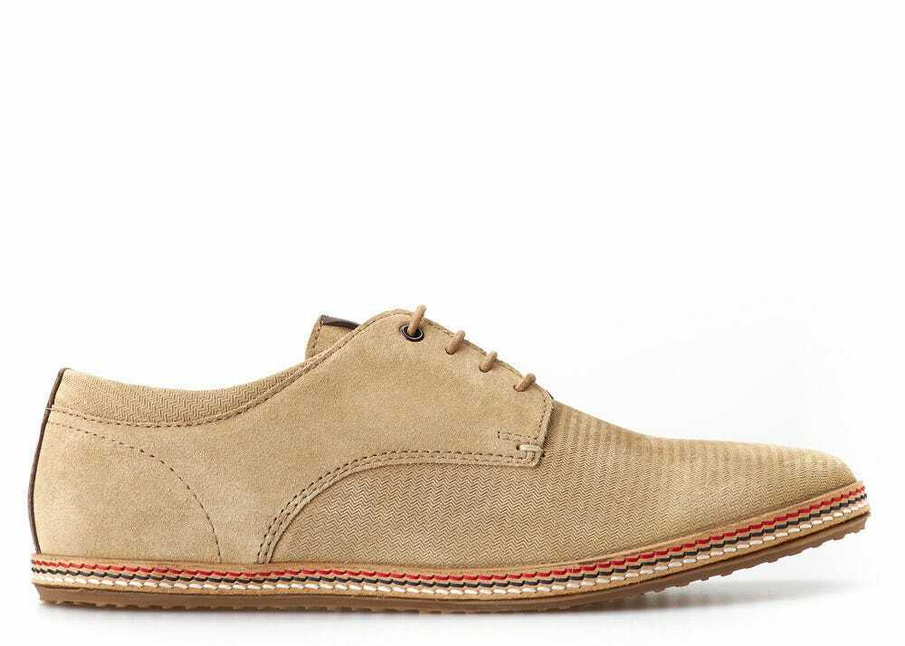 Mens Summer Shoes, 'Mavern' Suede Taupe Espadrilles by Base London