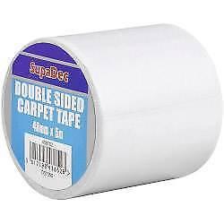 SupaDec Double Sided Carpet Tape 48mm x 5m