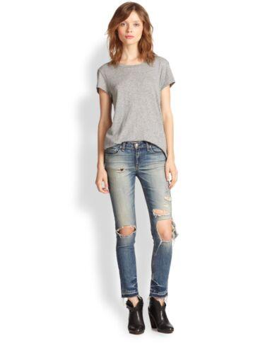 Rag & Bone Jean THE CROP Skinny STRAIGHT Leg Jeans