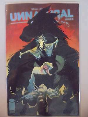 Unnatural #3 B Cover NM Image Comics Book