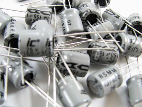 Aluminum Electrolytic 22UF to 680UF 25V Illinois Capacitor *New Old Stock!*